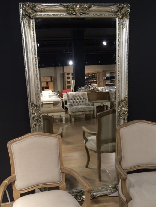 Spiegel met Facet 002 (80x180cm)