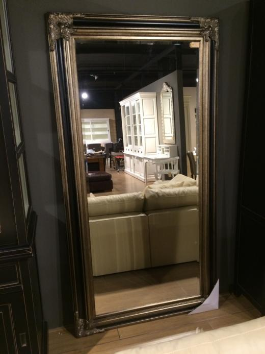 Spiegel met Facet 320 (80x180cm)